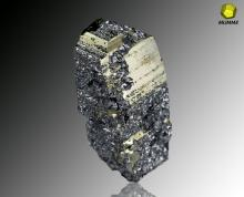 Pyrite and Galena, Tatatila, Veracruz, Mexico.